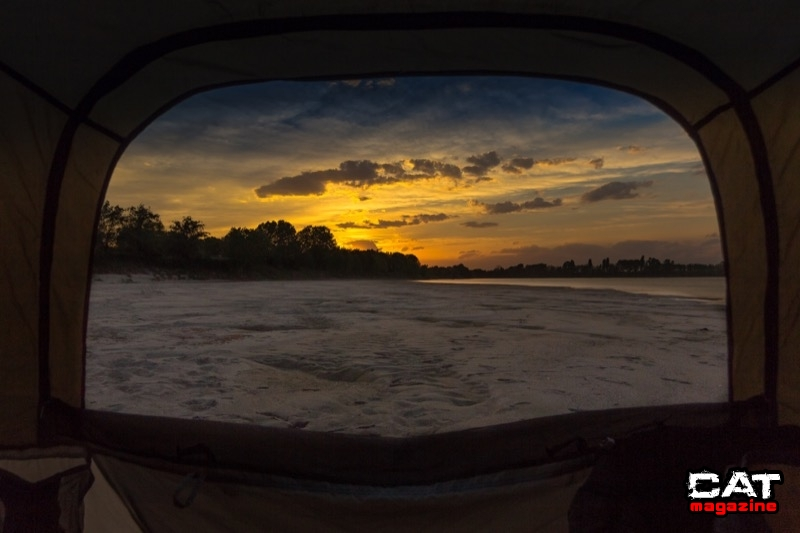 Finestra sul tramonto