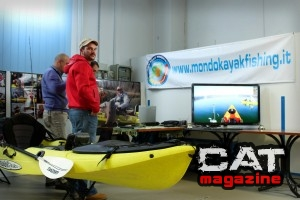 Lo stand di Mondo Kayak Fishing