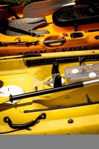 Dettagli dei kayak