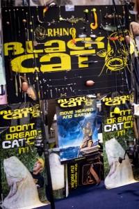 Stand Blak Cat presso Giorni Pesca