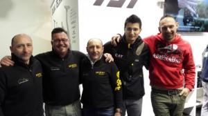 Con il Team Sportex Italia e Yuri Grisendi