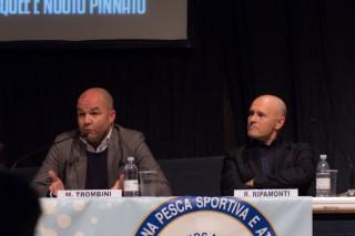 Trombini, Presidente Provincia di Rovigo e Roberto Ripamonti, giornalista di settore, e