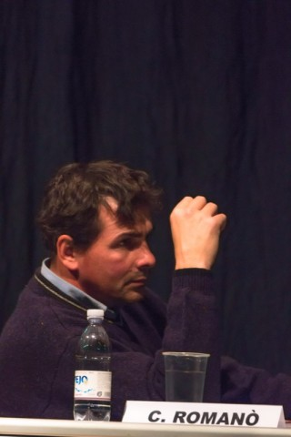 Carlo Romanò, ittiologo responsabile del servizio di pesca nella provincia di Como