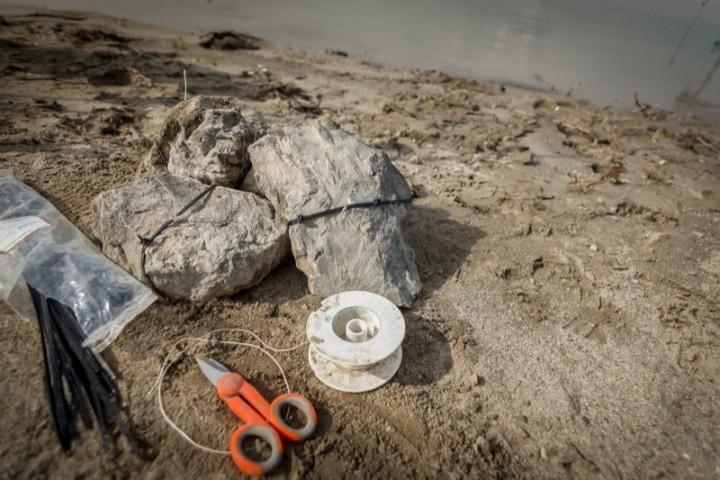 Tutto i necessario per fissare le pietre